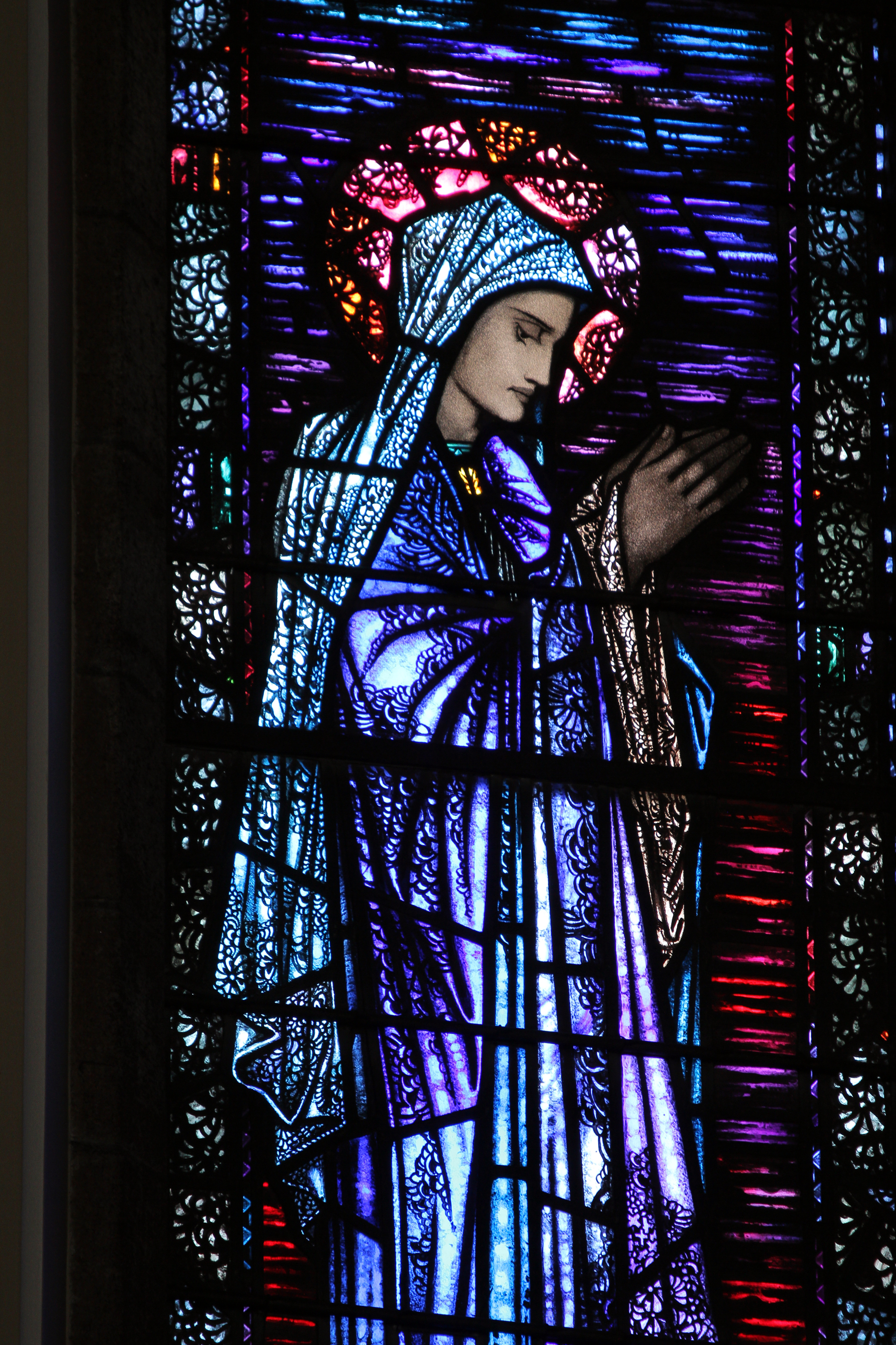 Our-Lady-stained-glass-window