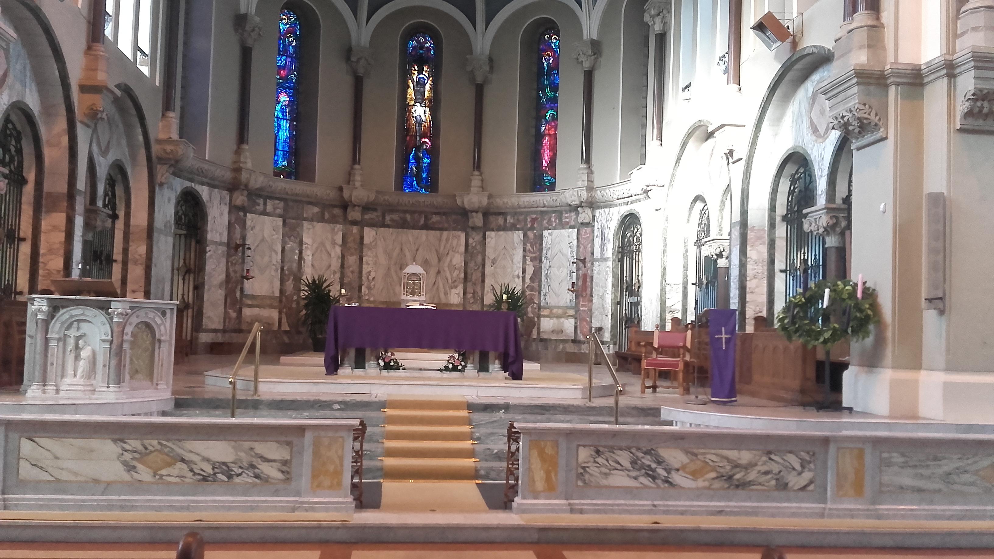 Advent-Altar